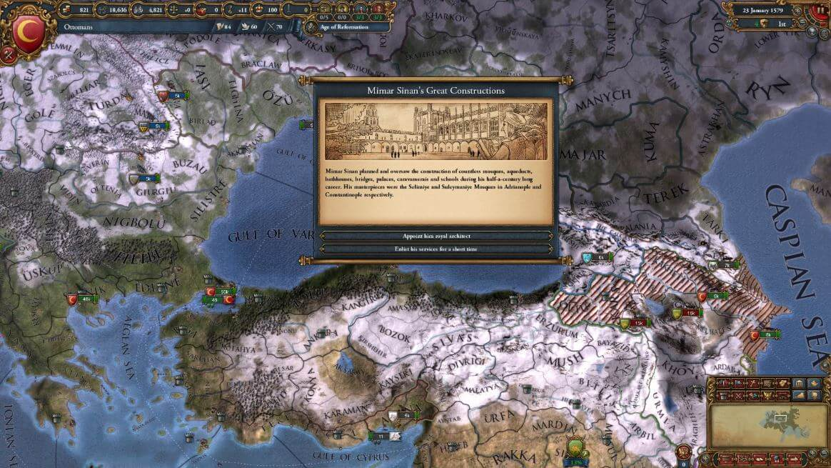 Each playthrough in a grand strategy game is inherently different