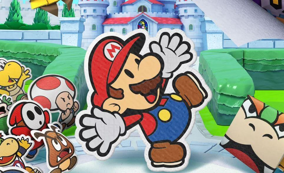 Paper Mario is one of Nintendo's newest exclusives