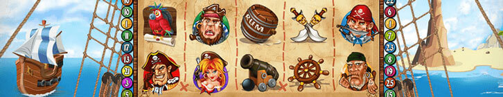 Top 4 Slot Machines About Pirates and Sea Adventures