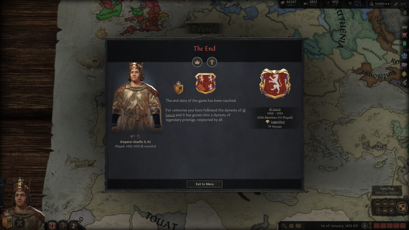 You can make an obscure dynasty into a popular one