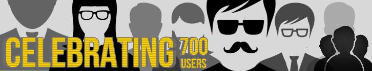 WWGDB Celebrates 700 Users  preview image