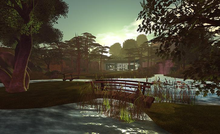 a prime piece of property in Second Life