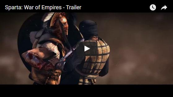 Sparta: War of Empires Trailer Video