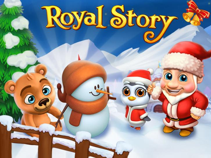 Santa's Special Delivery in Royal Story