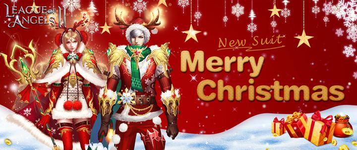 Warm Up this Christmas with a New Suit in League of Angels 2