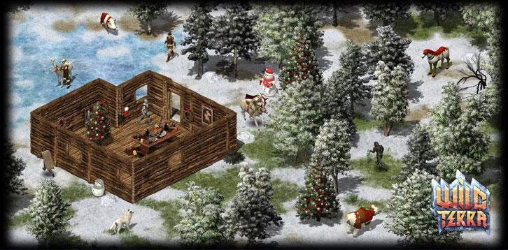 Christmas Event in the Wild Terra