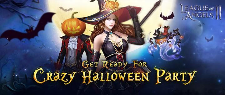 Join in the Creepy Halloween Festivities in League of Angels II