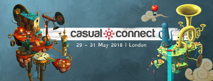 Casual Connect Europe 2018 is Heading to London