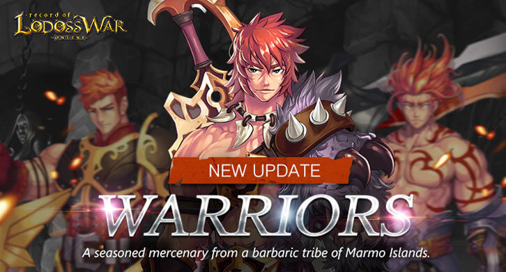 Record of Lodoss War Online Releases A New Character, The Warrior
