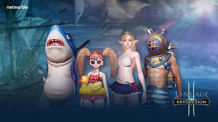 Lineage 2: Revolution Celebrates Summer with New In-Game Swim Suit Costumes and Events