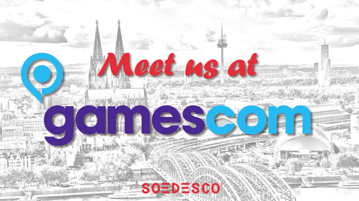 SOEDESCO Unveils Line-up for This Year's Gamescom