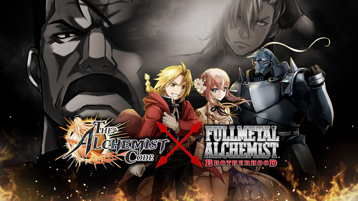 Upcoming Fullmetal Alchemist Brotherhood and the Alchemist Code Collaboration This November