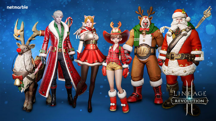 Netmarble Releases Lineage 2: Revolution Holiday Update Featuring New Seasonal In-Game Content