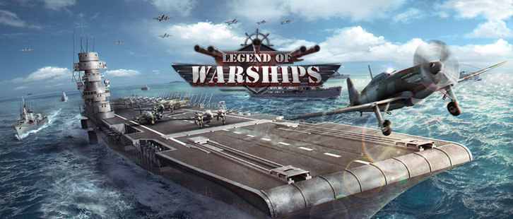 Legend of Warships Celebrates Its Launch with A Giveaway!