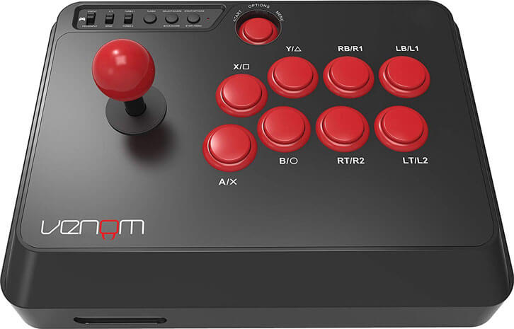 Venom Gears Up for Kombat with the Multiformat Arcade Fight Stick