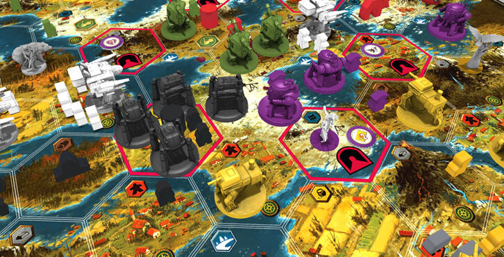 Asmodee Digital Launches Invaders from Afar DLC, The First Expansion for Scythe: Digital Edition on PC