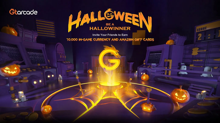 HalloWINNING – Win 10,000 In-Game Currency Playing On GTarcade This Halloween