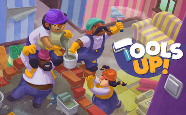 Introducing Tools Up! The Couch Co-op Game About Renovating An Apartment