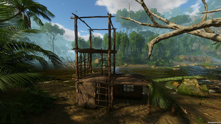 Upgrade Your Mud Hut to a DELUXE Mud Hut in the Green Hell Expanded Shelters Update