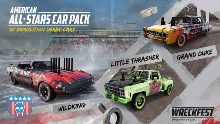 Wreckfest gets massive free tournament update