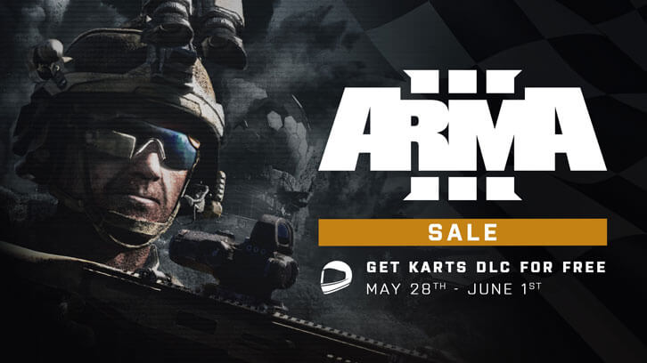 Arma 3 Steam Sale Includes Free-To-Own Karts DLC