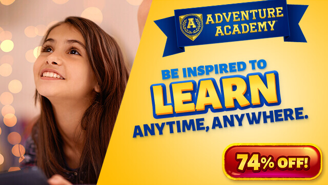 Make Being Stuck at Home During the Summer Fun and Educational with Adventure Academy!