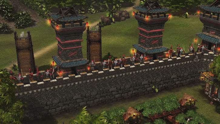 New Stronghold: Warlords' Gameplay Shows Off Customisable Castle Defences