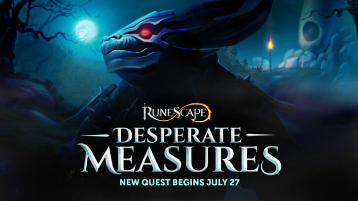 Desperate Measures to bring a new lore chapter to RuneScape on 27th July 2020