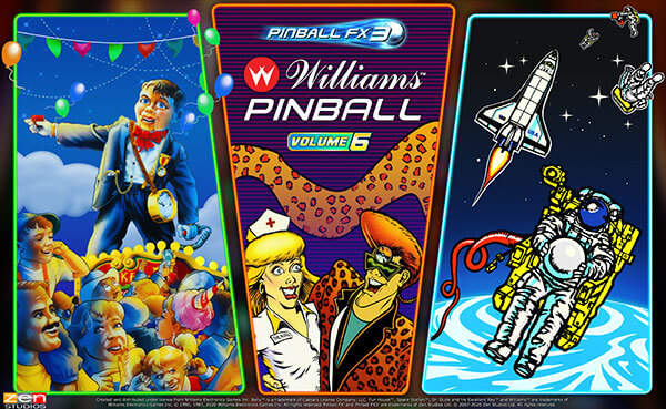 A National Pinball Day Announcement – Williams Pinball: Volume 6 is Coming!