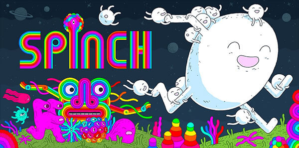 Jesse Jacob's Psychedelic Platformer Spinch is Out Now!
