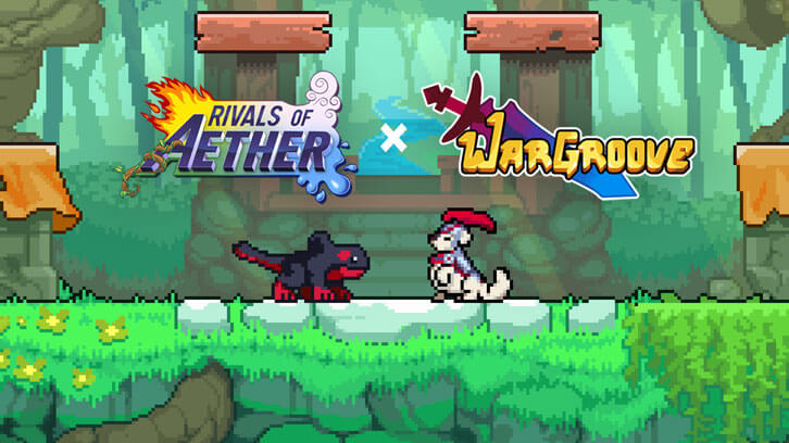 Wargroove's Caesar arrives in Rivals of Aether on PC & Switch today!