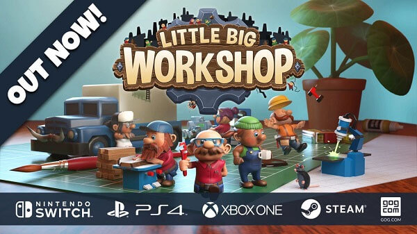 Little Big Workshop comes to consoles!