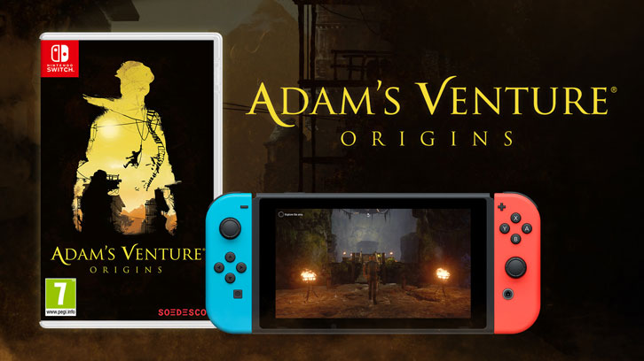 Adam's Venture: Origins' physical edition for Nintendo Switch hits the shelves