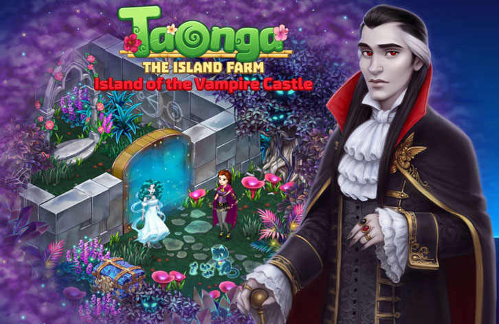Travel to the Island of the Vampire Castle and Vanquish Ghosts in This Taonga Halloween Event!