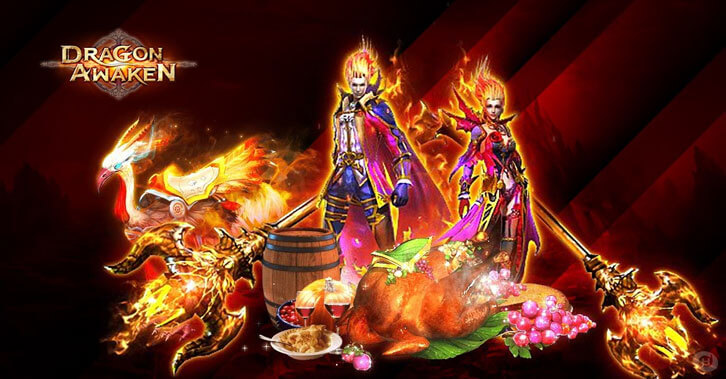 Celebrate Thanksgiving in Dragon Awaken and Earn Special Rewards
