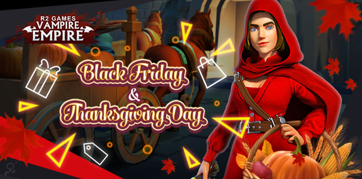 Vampire Empire Celebrates Thanksgiving and Black Friday With These Special In-Game Events