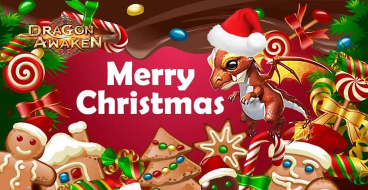 Enjoy Christmas in Dragon Awaken