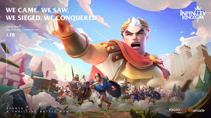 Infinity Kingdom Out Now, Bringing Deep Strategy MMO Gameplay to iOS and Android