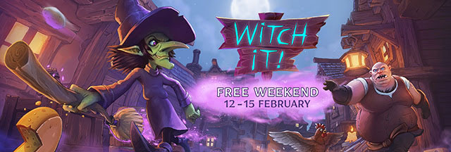"""Witch It"" is Free to Play on Steam This Weekend!"