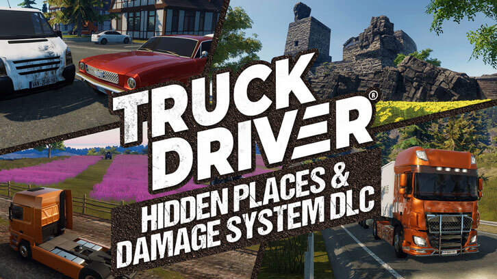 Truck Driver delivers free DLC on Nintendo Switch