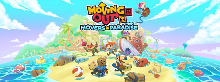 Moving Out sets sail for the tropics with new 'Movers in Paradise' content