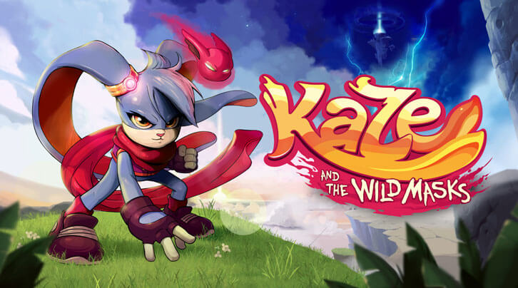 Kaze and the Wild Masks' story trailer shows the 2D platformer is ready for action