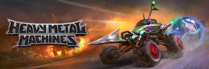 Manowar? More like..ManoCAR! Heavy Metal Machines is out now!