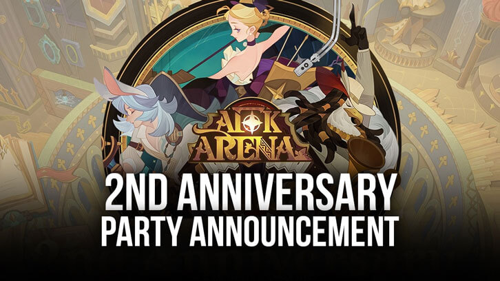 AFK Arena gets the party started on its second anniversary