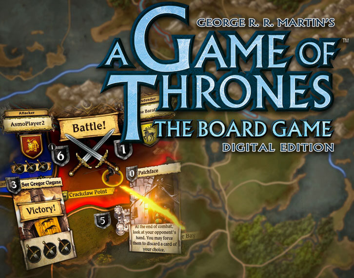 A Game of Thrones: The Board Game - Digital Edition Comes to Mobile Devices Today