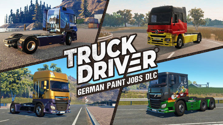 SOEDESCO brings Oktoberfest to Truck Driver with the 'German Paint Jobs' DLC