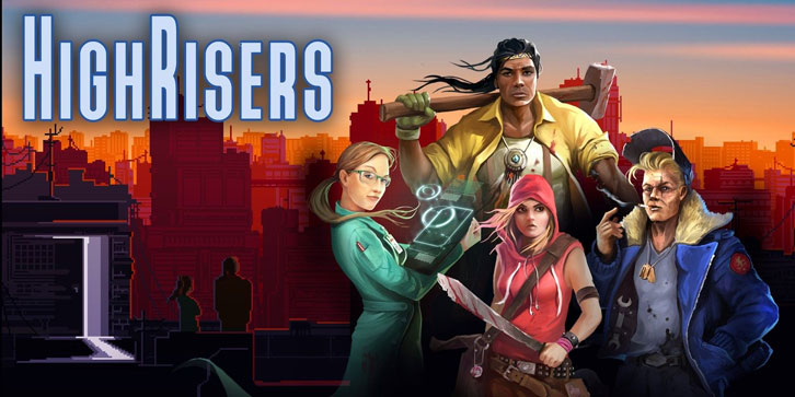 Survive the Collapse of Society on the Rooftops of Skyscrapers in Survival RPG Highrisers, Coming 6th May for PC