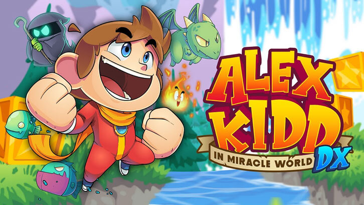 Alex Kidd in Miracle World DX will come to PC and consoles on June 24th