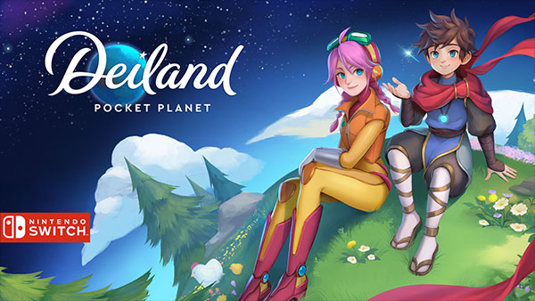 Deiland: Pocket Planet Edition is Now Available on Nintendo Switch!