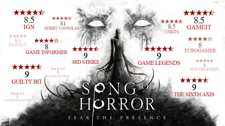 Meridiem Games and Raiser Games Announce Deluxe Boxed Edition of Song of Horror Coming This Summer for PlayStation 4